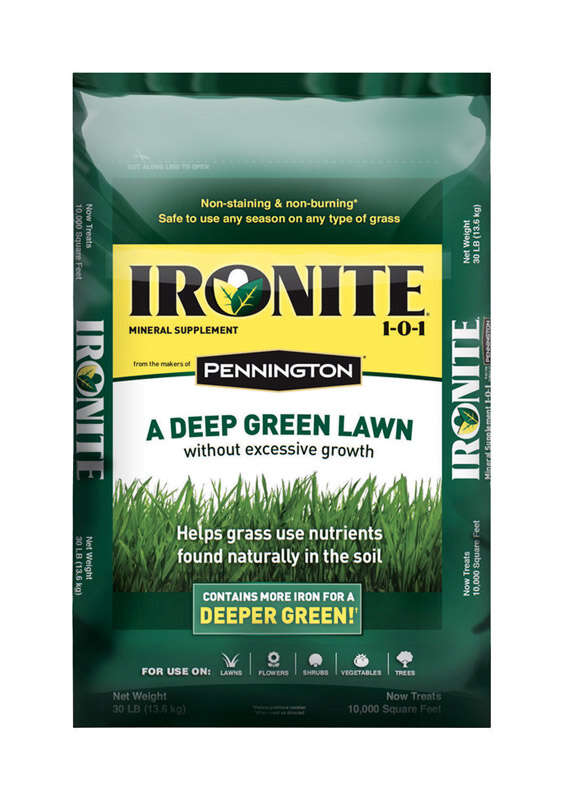 Pennington  Ironite  1-0-1  Mineral Supplement  For All Grass Types