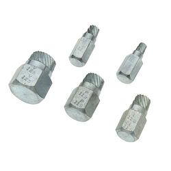 Superior Tool Steel Bolt Extractor Set 5 pc.