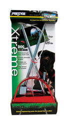 Prestige Prints  Xtreme  Silver  Tie-Out Stake  Steel  Dog  Tie Out Stake  Large/X-Large
