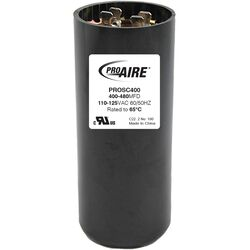Perfect Aire  ProAire  400-480 MFD  Round Start Capacitor