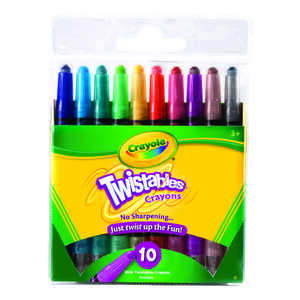 Crayola  Mini Twistable Crayons  10 pk