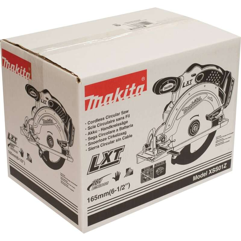 Makita  LXT  6-1/2 in. 18 volt 0 amps Cordless  3700 rpm Circular Saw