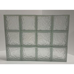 Clear Choice  24 in. H x 32 in. W x 3 in. D Ice  Panel
