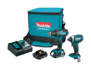 Makita  LXT  Cordless  18 volts Drill/Driver and Impact Driver Combo Kit