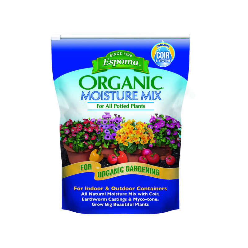 Espoma Organic  Moisture Mix  Organic Potting Mix  8 qt.