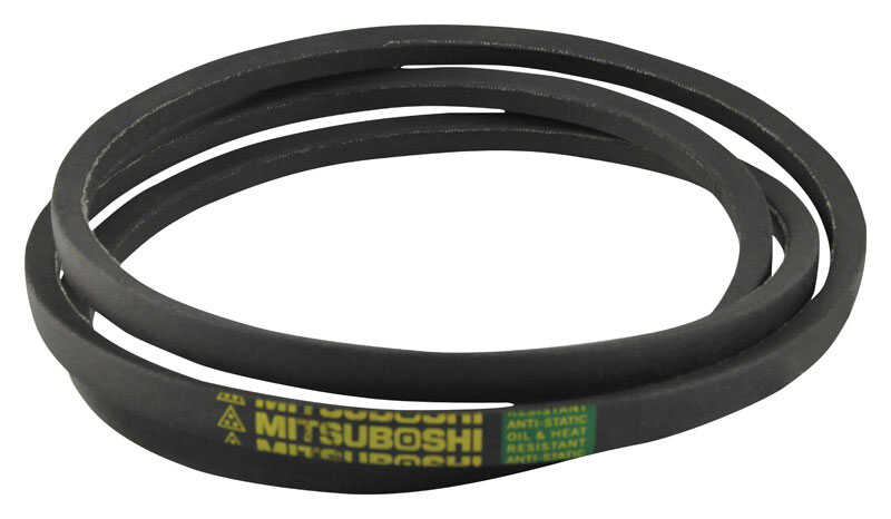 Mitsuboshi  General Utility V-Belt  0.5 in. W x 74 in. L For All Motors
