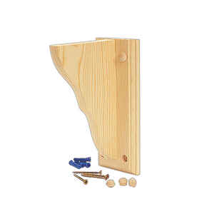 Waddell  Wood  Bracket  9-3/4 in. L