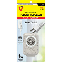 Victor PestChaser Plug-In Electronic Pest Repeller For Rodents