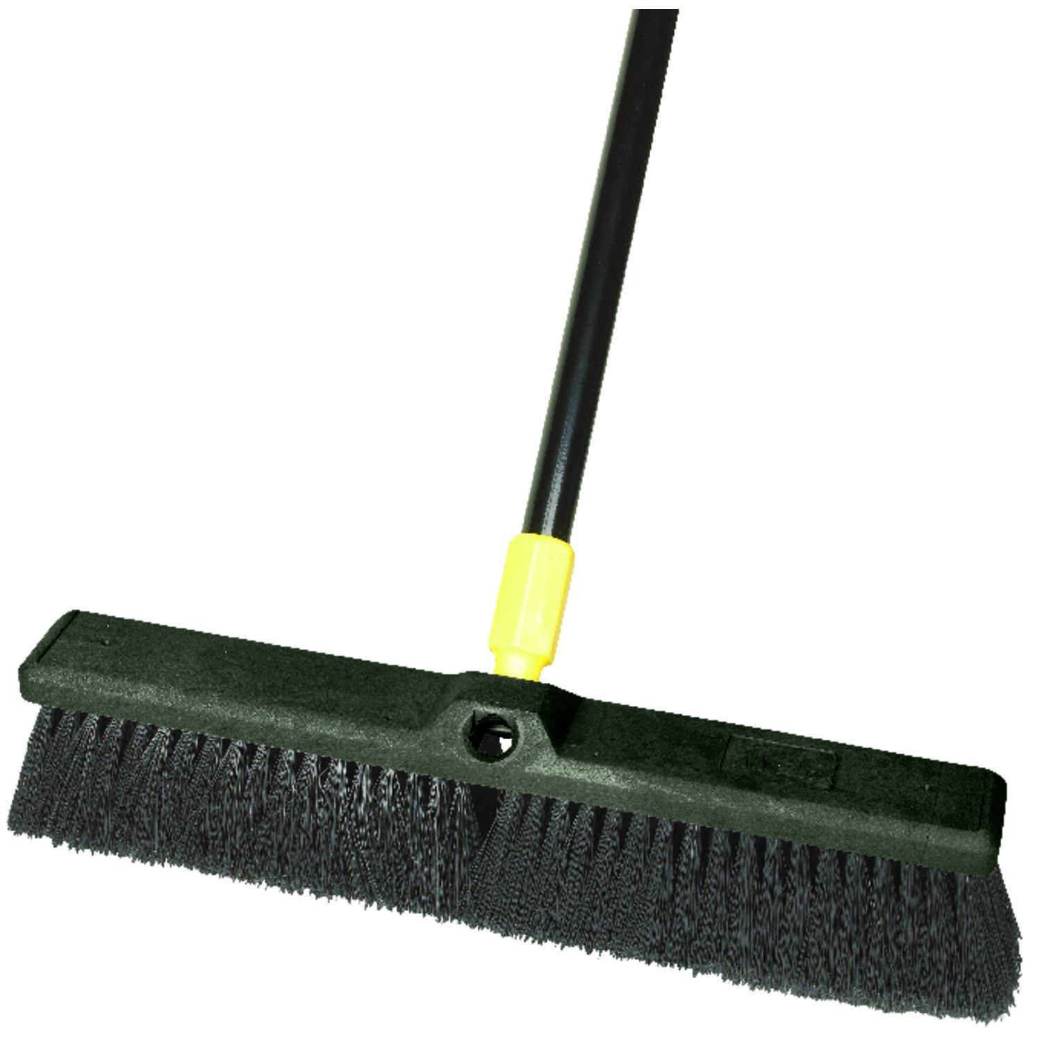 Ace  Smooth Surface Push Broom  18 in. W x 60 in. L Synthetic