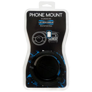 LoveHandle  Black  Cell Phone Car Mount  For All Mobile Devices Any cell phone model
