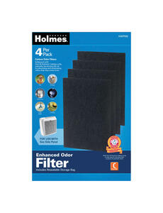 Holmes  6 in. H x 0.3 in. W Square  Carbon Filter