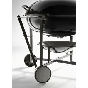 Weber  Ranch  Charcoal  37 in. W Black  Grill