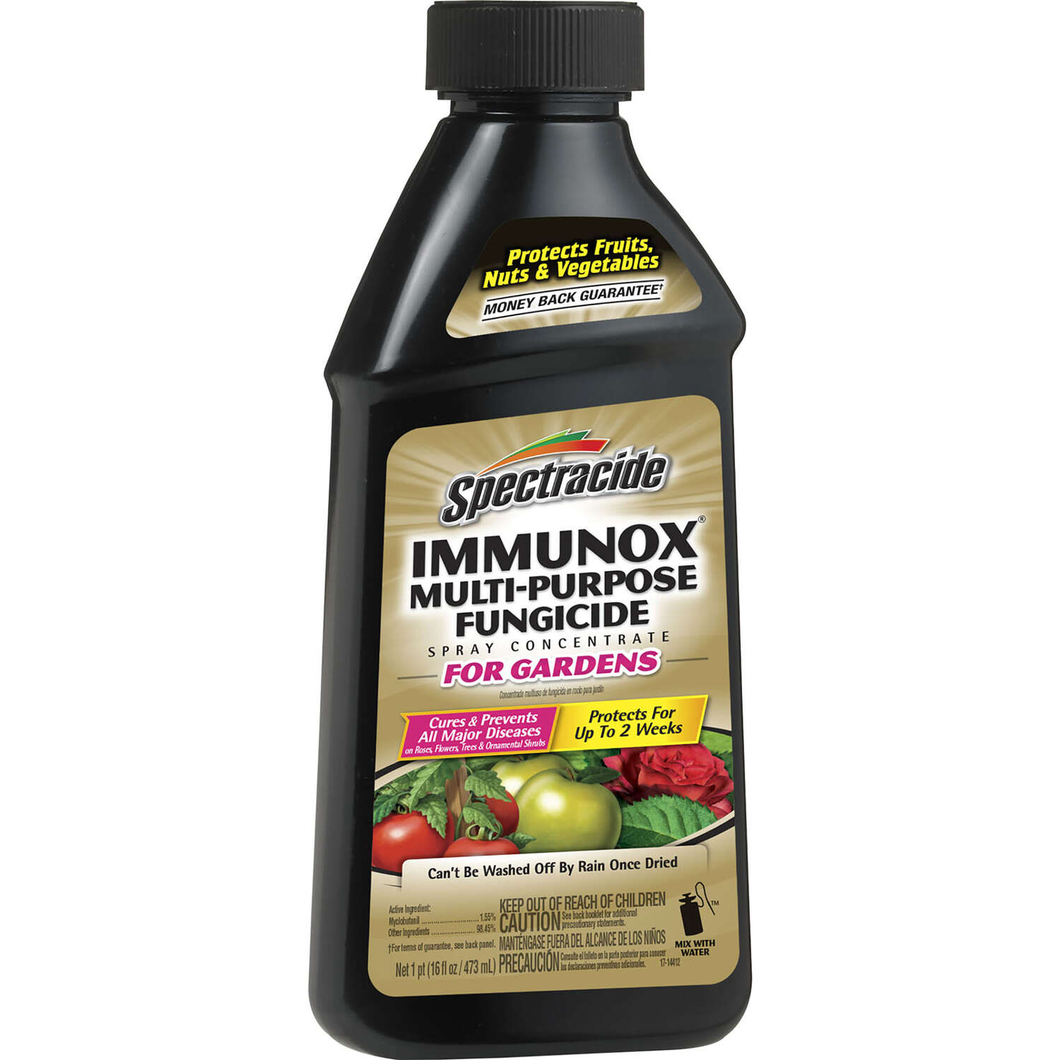 Spectracide  Immunox  Concentrated Liquid  Garden Fungicide  16 oz.
