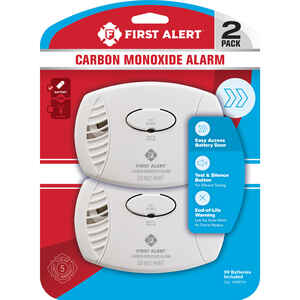 First Alert  Battery-Powered  Electrochemical  Carbon Monoxide Detector