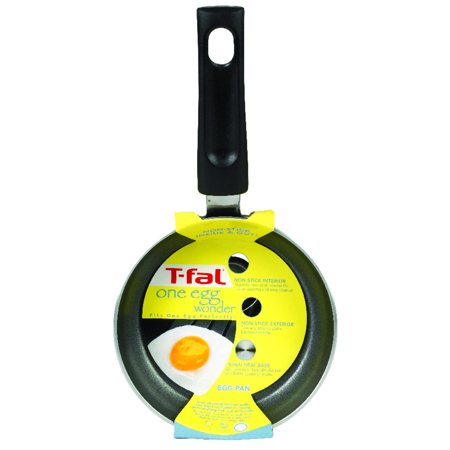 T-Fal  4-1/2 in. W Gray  Egg Pan