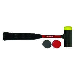 Craftsman  1-1/2 oz. Rubber  Mallet  12.5 in. L x 1 in. Dia.