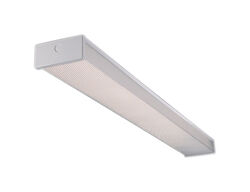 Metalux  34 watts 24 in. 2 lights Fluorescent Wraparound Light Fixture