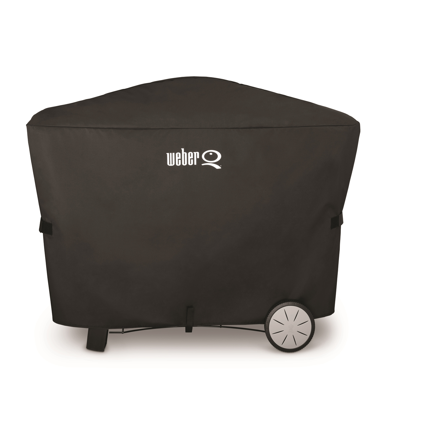 Weber  Black  Grill Cover  56.6 in. W x 22 in. D x 39.3 in. H For Fits Q2000 series with cart and Q3