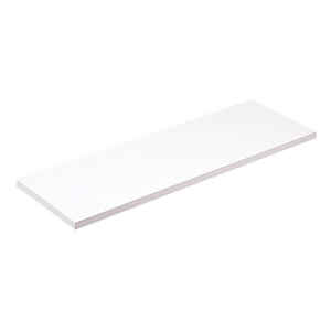 Knape & Vogt  5/8 in. H x 12 in. W x 36 in. D White  Melatex Laminate/Particle Board  Shelf