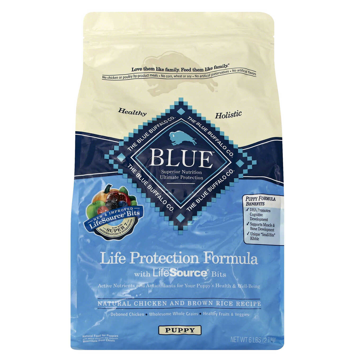 Blue Buffalo  Life Protection Formula  Chicken and Brown Rice  Dog  Food  6 lb.