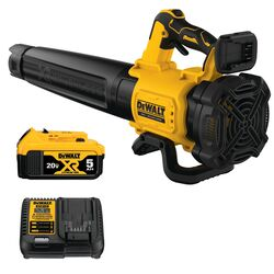 DeWalt 125 mph 450 CFM 20 volt Battery Handheld Blower Kit (Battery & Charger)