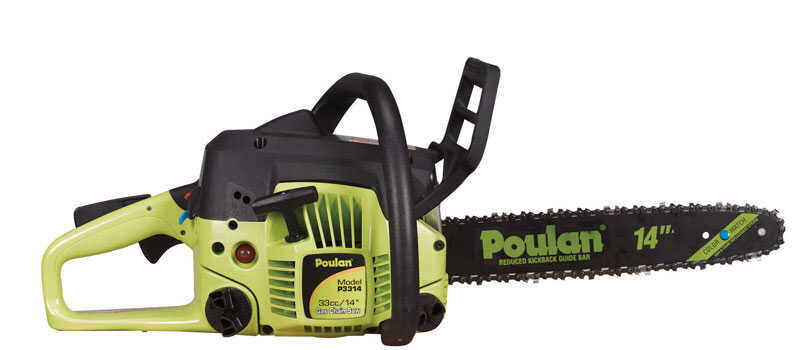 Poulan  14 in. Gas Powered  Chainsaw