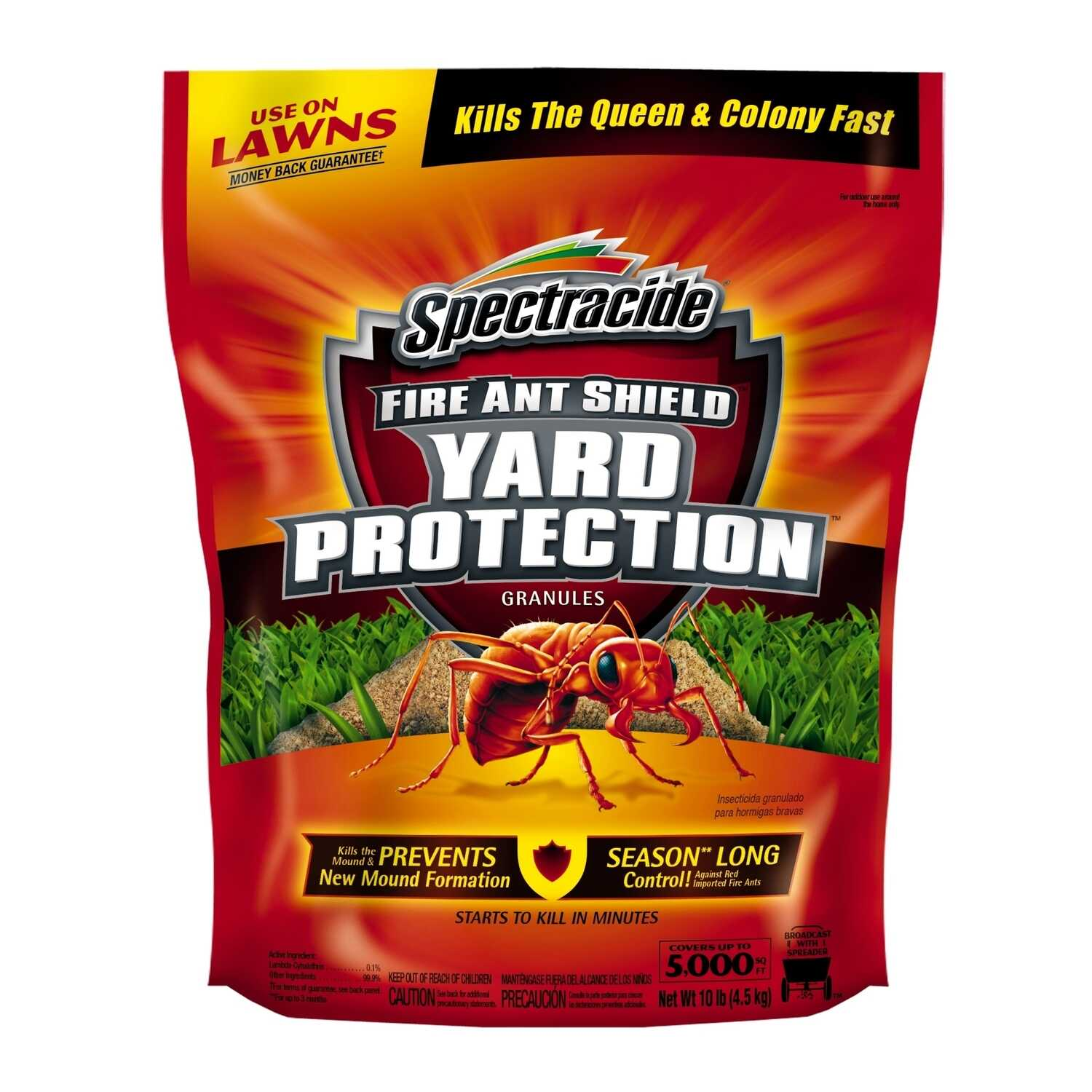 Spectracide  Fire Ant Shield Yard Protection  Ant Killer  10 lb.