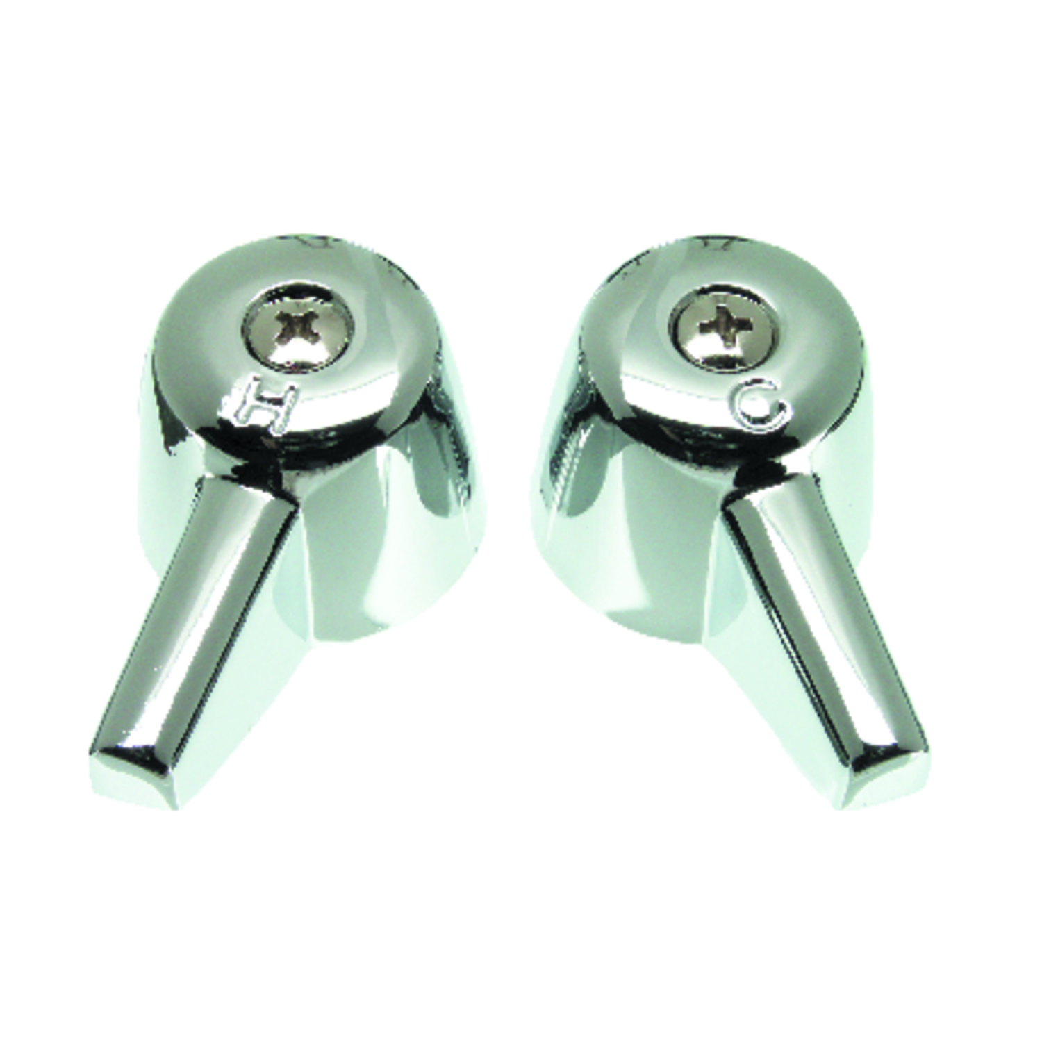 Ace Canopy Chrome Polished Hot and Cold Faucet Handles - Ace Hardware