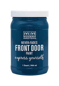 Modern Masters  Satin  Calm  Front Door Paint  1 qt.