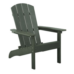 Living Accents Slate Resin Frame Adirondack Chair
