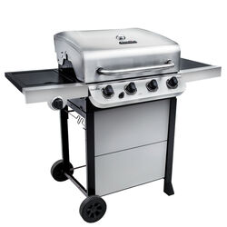 Char-Broil  Performance  4 burners Liquid Propane  Grill  Stainless Steel