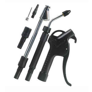 Craftsman  Steel  Air Blow Gun Kit  1/4 in. 90 psi