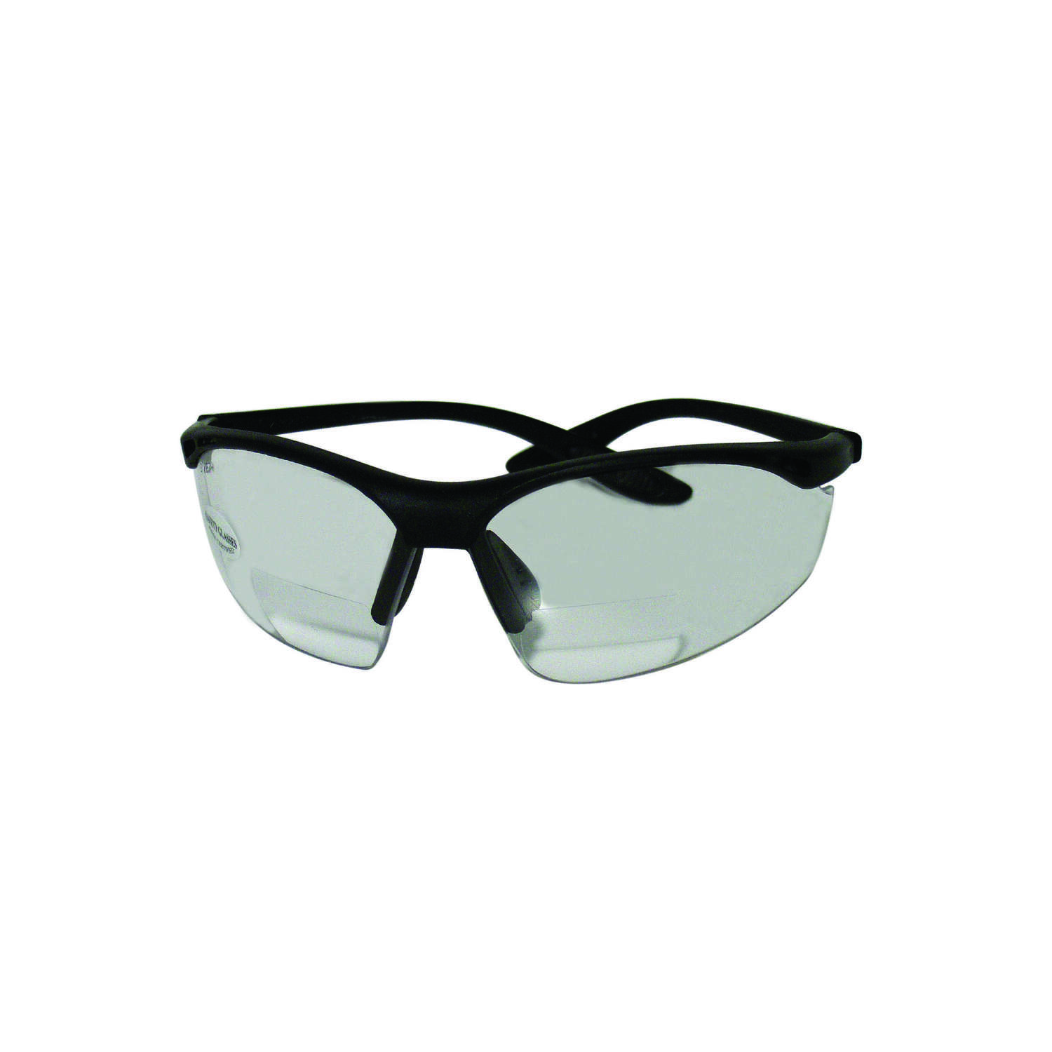 Sierra Ranch  Bi-Focal Safety Readers  Clear Lens Black Frame 1 pc.