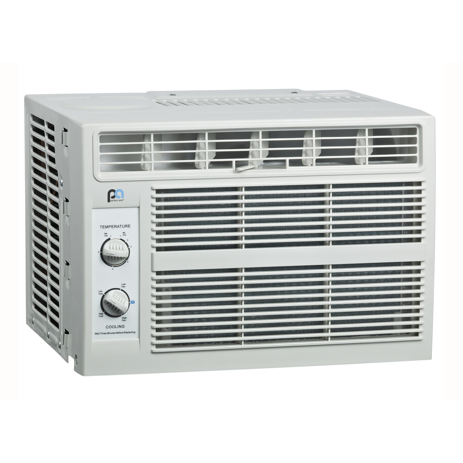 Perfect Aire 5,000 BTU 12 in. H x 16 W 100-150 sq. ft. Window