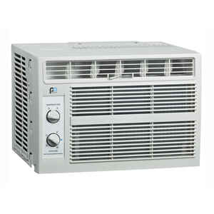 Perfect Aire  5,000 BTU 12 in. H x 16 in. W 100-150 sq. ft. Window Air Conditioner