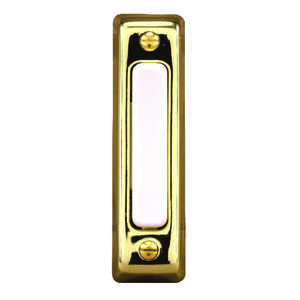 Heath Zenith  Polished Brass  Pushbutton