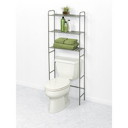 Zenna Home  60.2 in. H x 22.8 in. W x 8-1/2 in. D Metal  Spacesaver Shelf