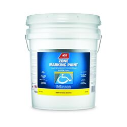 Ace  Yellow  Zone Marking Paint  5 gal.