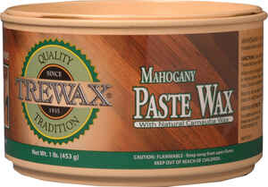 Trewax  Mahogany  Floor Wax  Paste  12.35 oz.