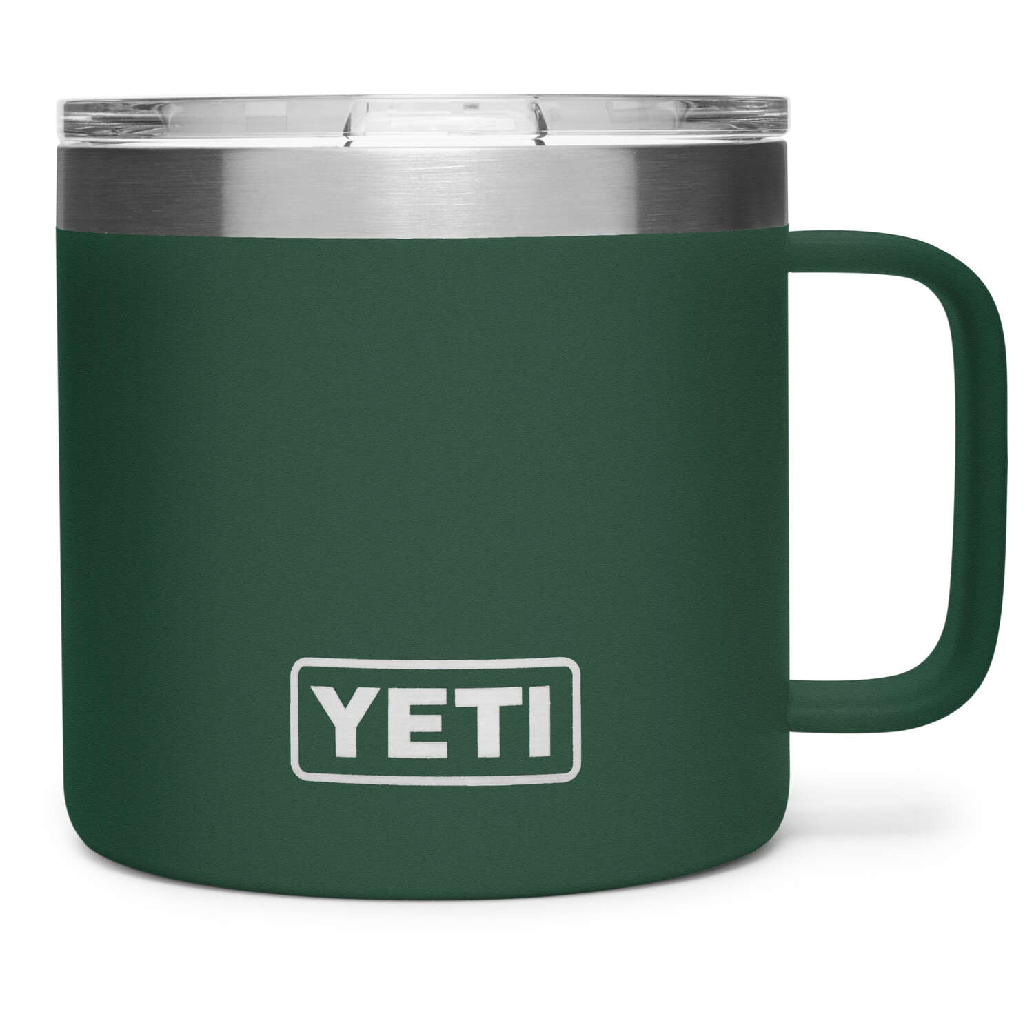YETI  Rambler  14 oz. Mug with Lid  Northwoods Green