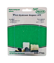 PRIER  Mansfield  Brass/Rubber  Wall Hydrant Repair Kit  For PRIER Mansfield style 300/400/500 Serie