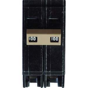 Eaton  100 amps Plug In  2-Pole  Circuit Breaker
