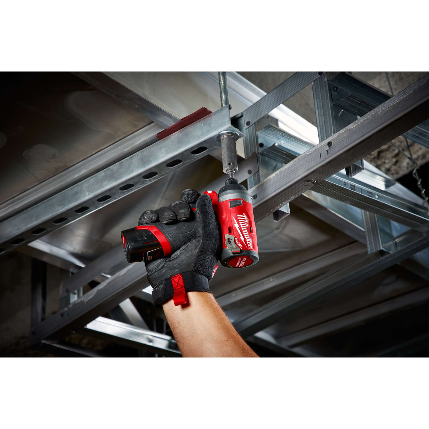 Milwaukee  M12 FUEL  12 volt 1/4 in. Brushless Brushless  Cordless Drill/Driver  3300 rpm 4 speed