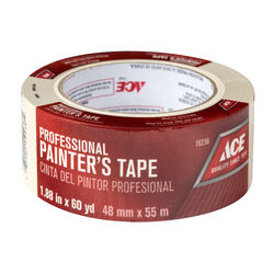 Ace 1.88 in. W x 60 yd. L Beige Regular Strength Painter's Tape 1 pk
