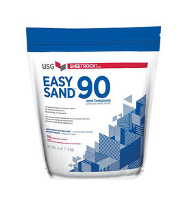 Sheetrock  White to off-white  Easy Sand 90  Joint Compound  3 lb.