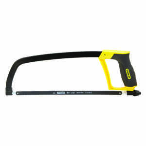 Stanley  12 in. Hacksaw  Black  1 pc.