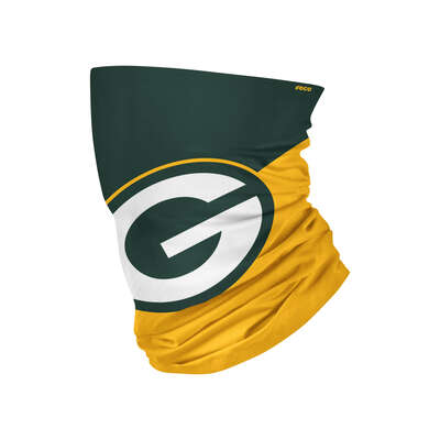 Foco  Green Bay Packers  Gaiter Scarf  Face Mask  1 pk