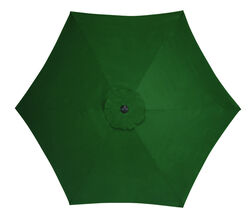 Living Accents  9  Tiltable Green  Market  Umbrella