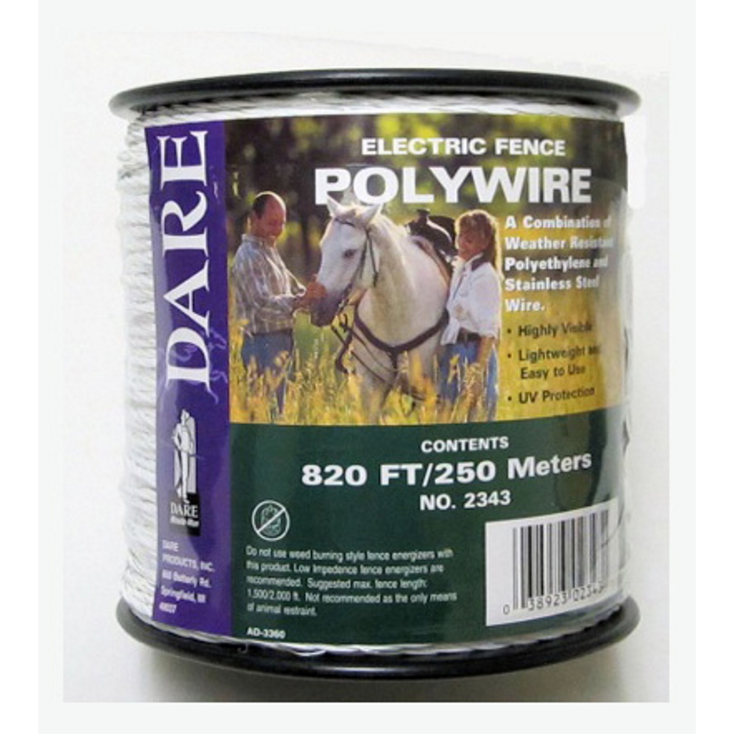 Dare Fence Poly Wire 820 ft.