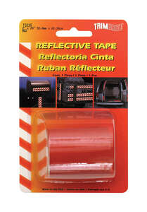 Trim Brite Reflective Tape 2 in. x 24 in. Red